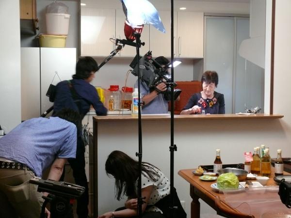 蔵女将、洋子お母さんがお酢料理を頑張る!