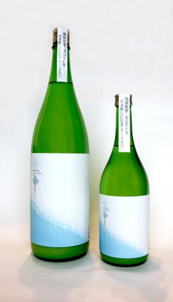 「夏 純米吟醸 雑賀 にごり ネージュブラン」1800mlと720ml