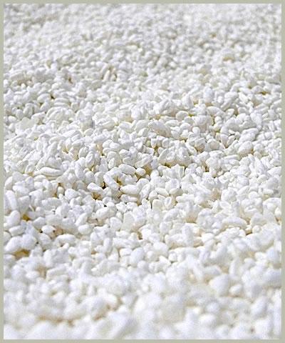 仕上がった麹米