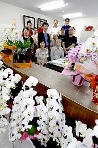 【蔵の移転:回想6】事務所はお祝いの花、いっぱいの画像