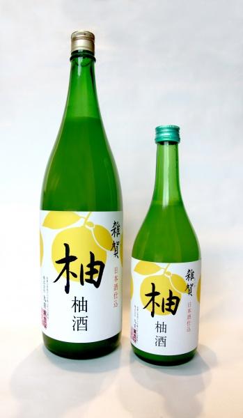 雑賀 柚酒 720mlと1800L