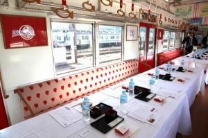 【イベント】満員御礼!南海電鉄加太線「めでたい電車」で堪能する「地酒と鯛づくし料理」の旅の画像